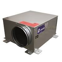 Boxventilator SBC-2-200 mm geisoleerd